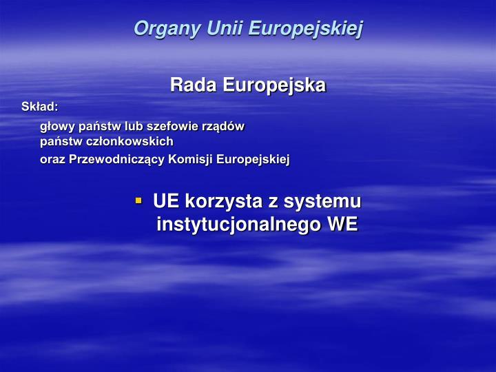 Organy Unii Europejskiej
