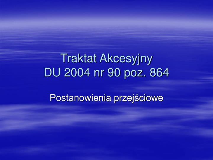 Traktat Akcesyjny