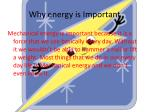 why energy is important