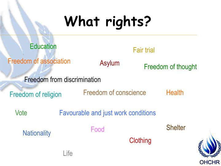 What rights?