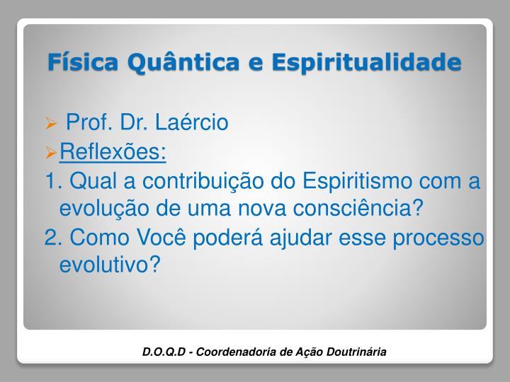 Prof. Dr. Laércio
