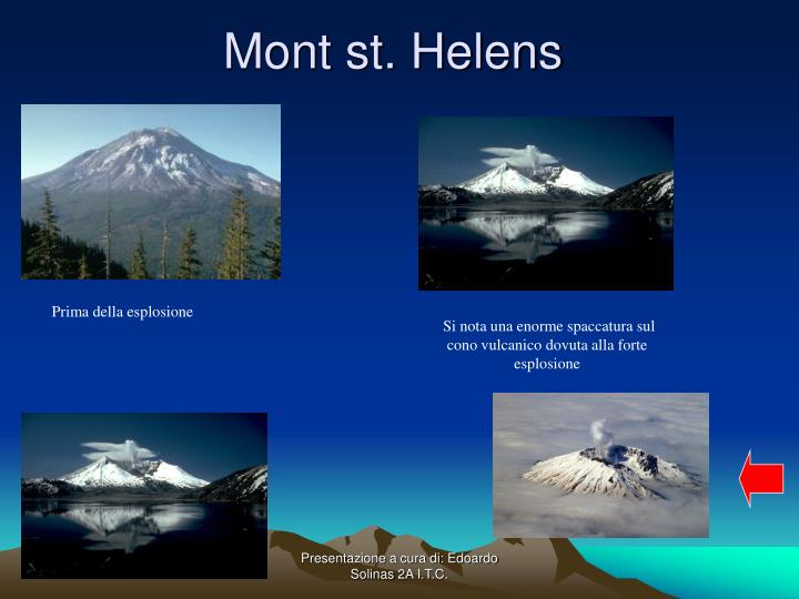 Mont st. Helens