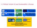 1 1 political context of local sustainability in europe