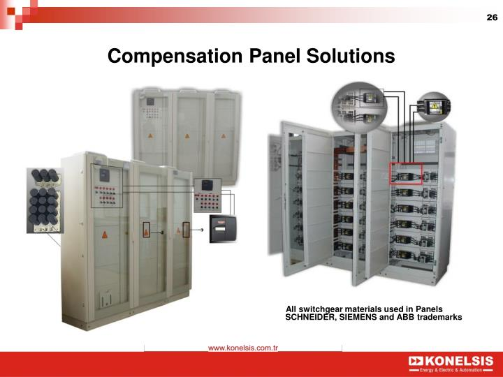 Compensation Panel Solutions