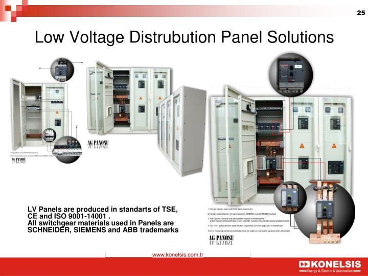 Low Voltage Distrubution Panel Solutions