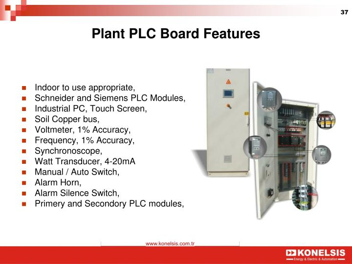 Plant PLC Board Features