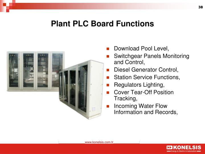 Plant PLC Board Functions