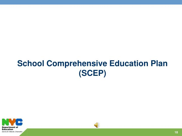 School Comprehensive Education Plan