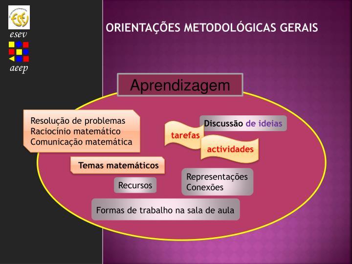 Orientações metodológicas gerais