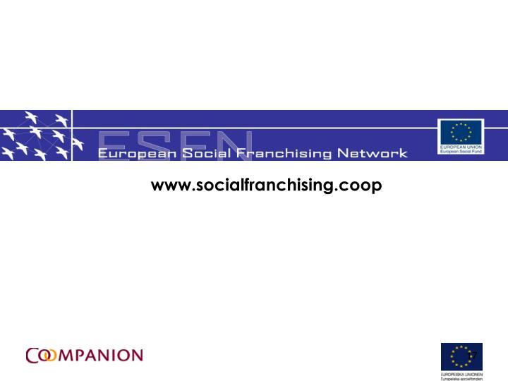 www.socialfranchising.coop