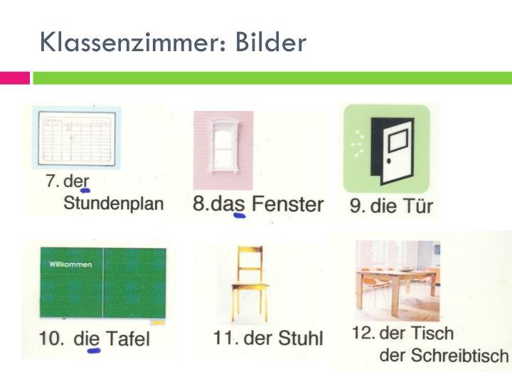 Klassenzimmer: Bilder