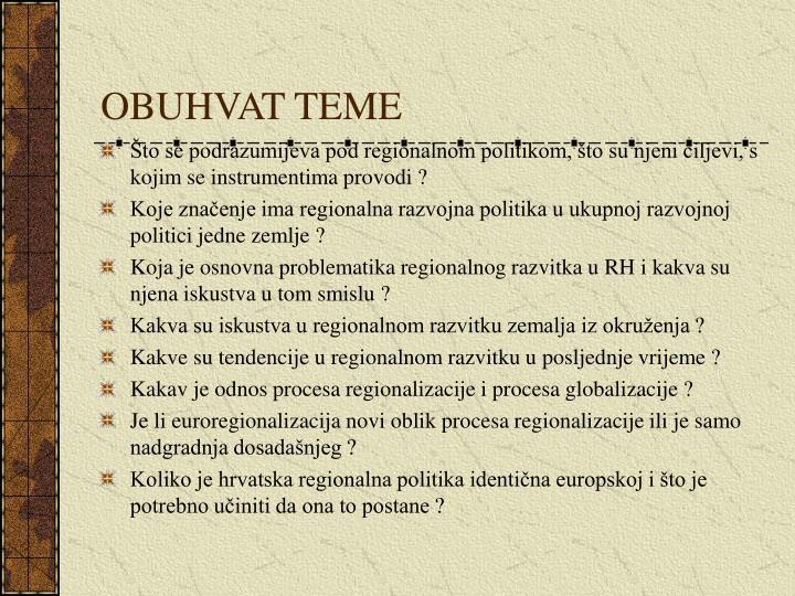 OBUHVAT TEME