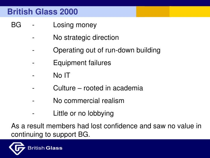 British Glass 2000