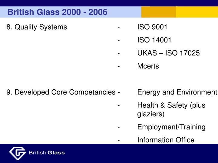 British Glass 2000 - 2006