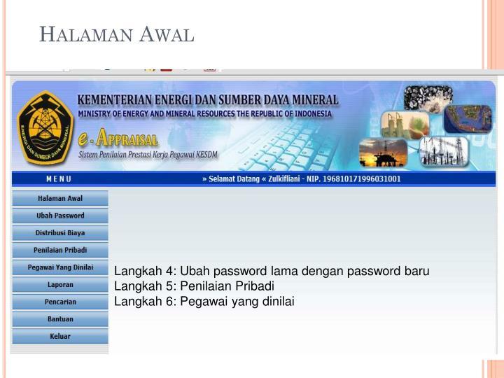 Halaman Awal