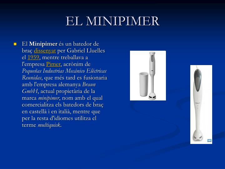 EL MINIPIMER