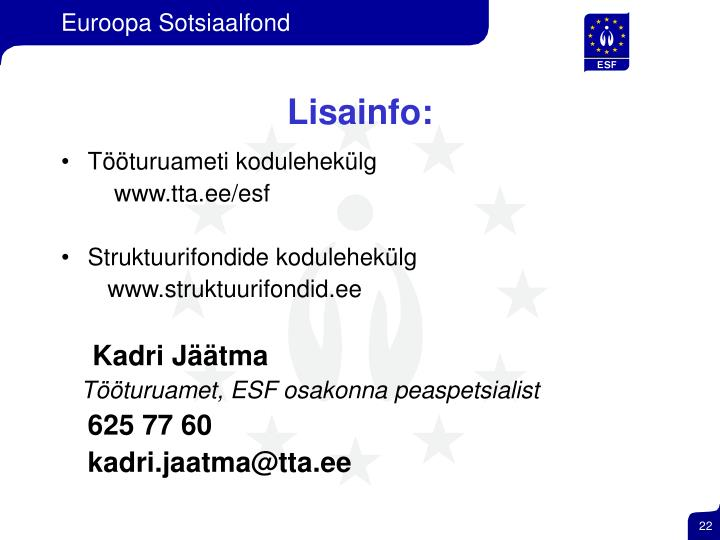 Lisainfo: