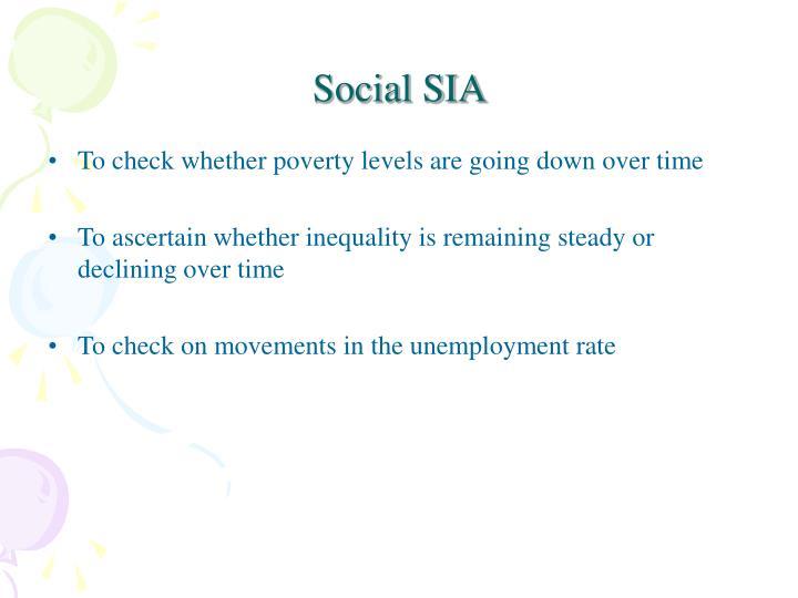 Social SIA