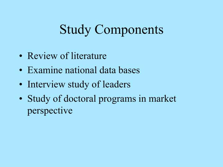 Study Components