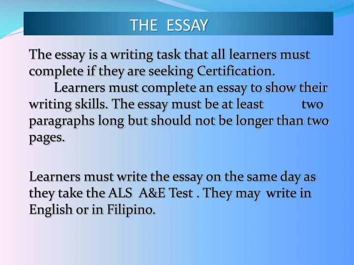 essay writing service in pakistan