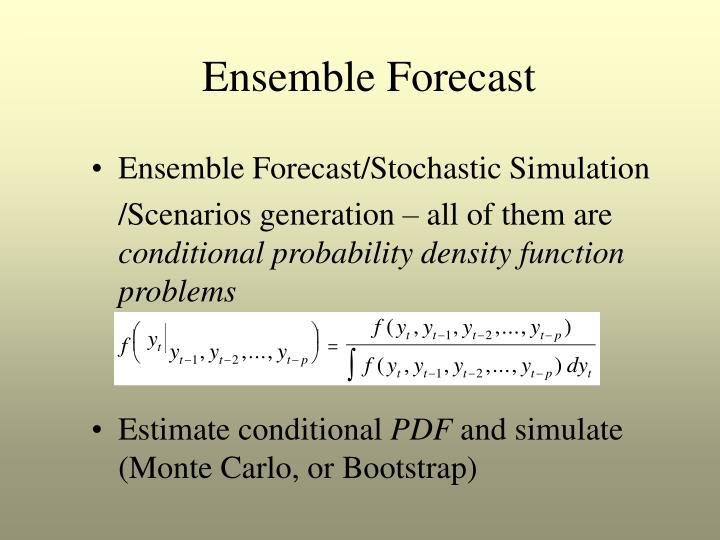 Ensemble Forecast