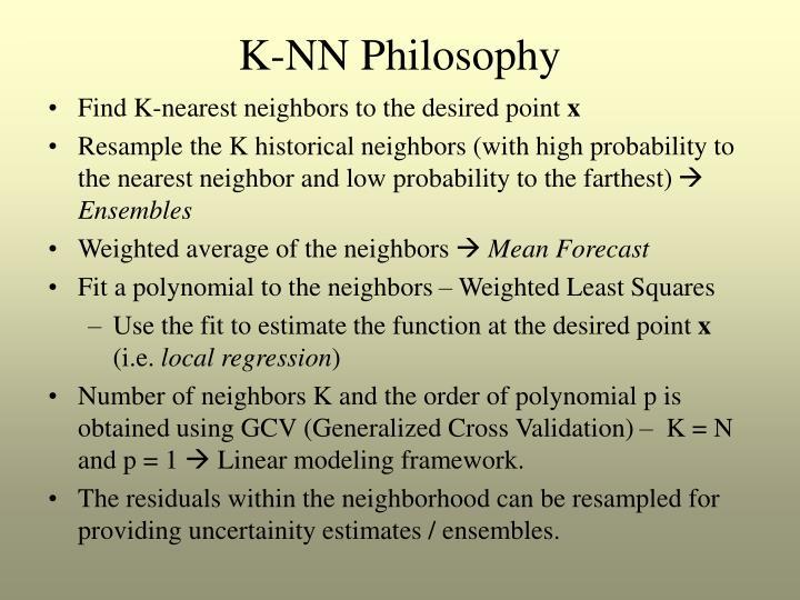 K-NN Philosophy