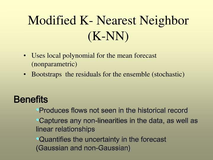 Modified K- Nearest Neighbor