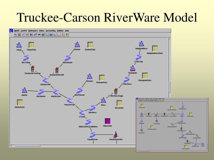 Truckee-Carson RiverWare Model