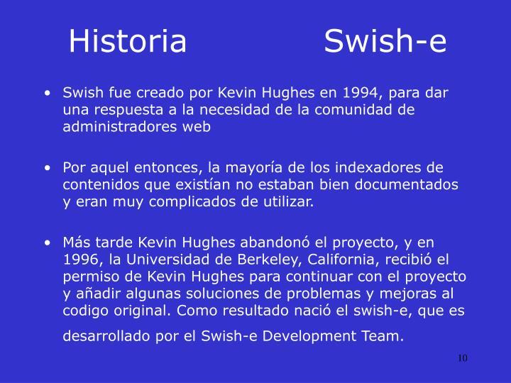 HistoriaSwish-e