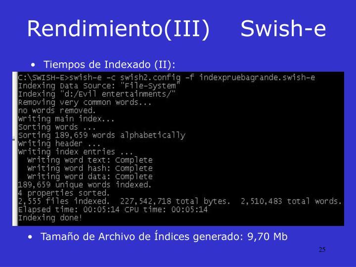 Rendimiento(III)Swish-e