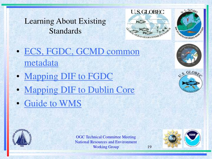 Learning About Existing Standards