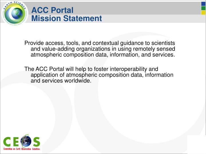 ACC Portal