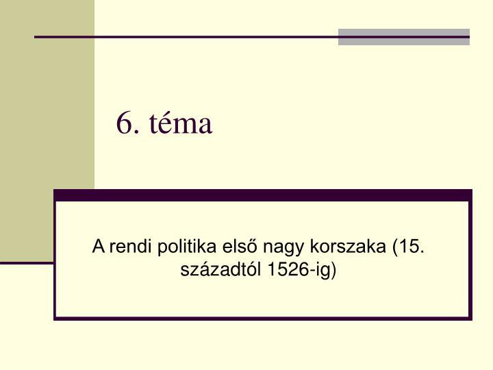 6. téma