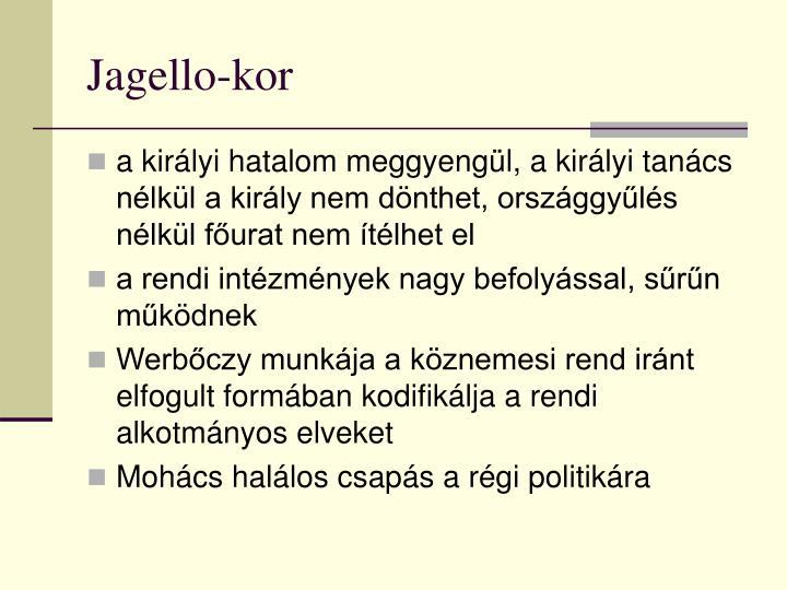 Jagello-kor