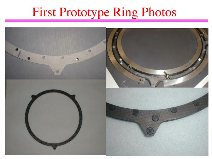 First Prototype Ring Photos