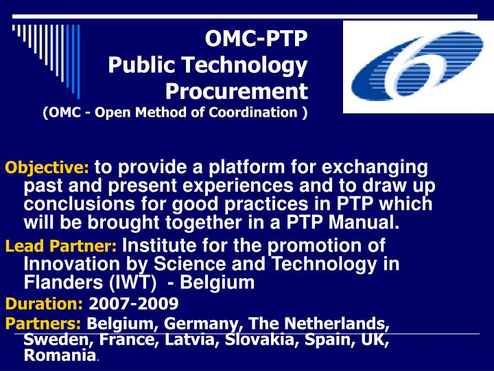 OMC-PTP