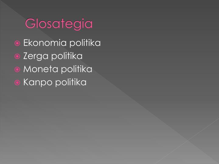 Glosategia
