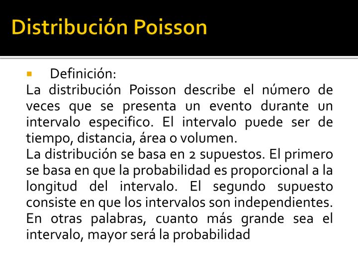 Distribuci n poisson1