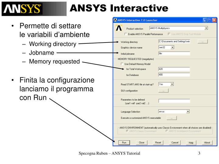 ANSYS Interactive