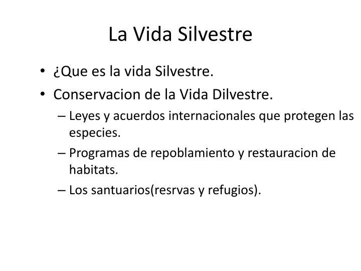 La Vida Silvestre