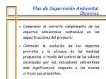 plan de supervisi n ambiental objetivos1