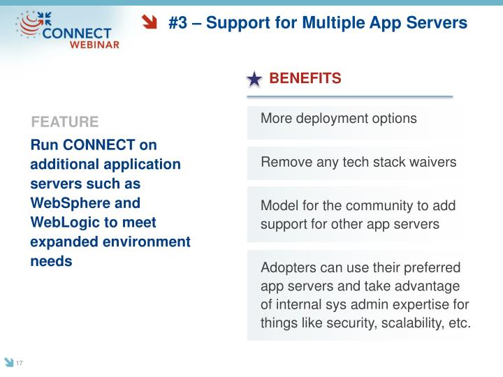 #3 – Support for Multiple App Servers