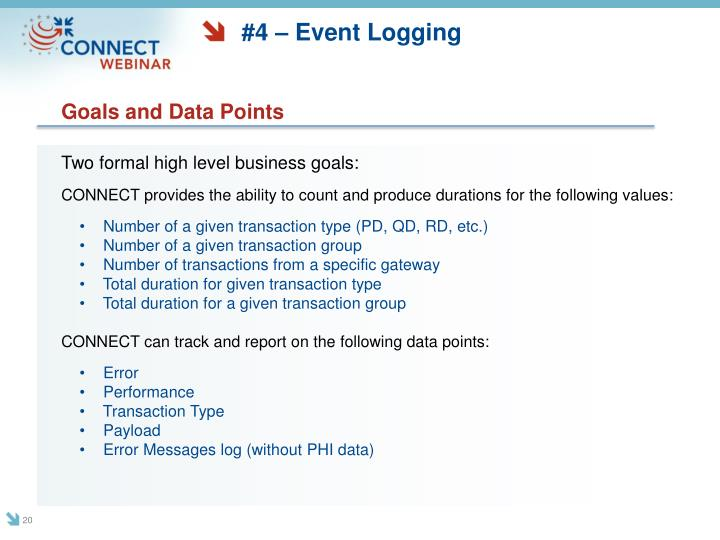 #4 – Event Logging