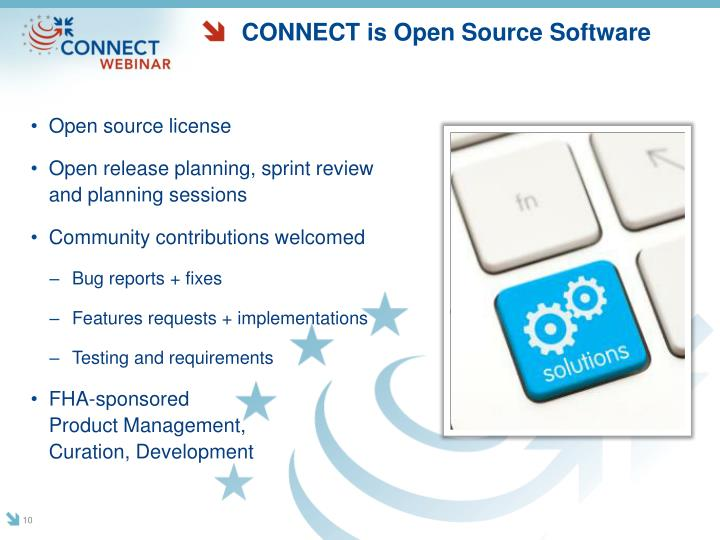 CONNECT is Open Source Software