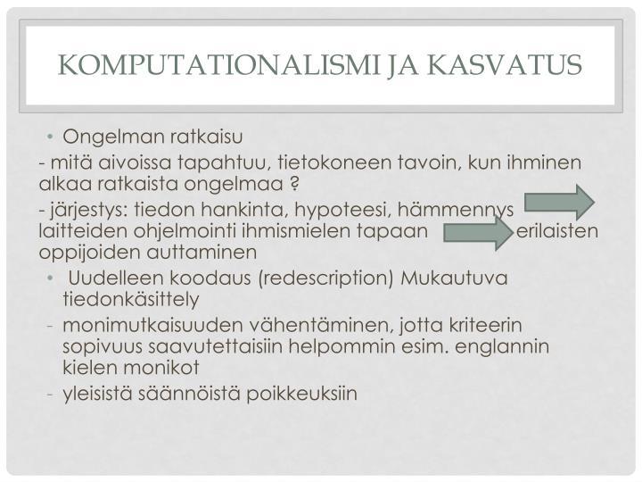 Komputationalismi