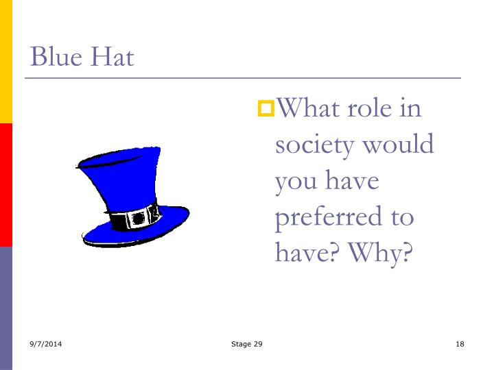 Blue Hat