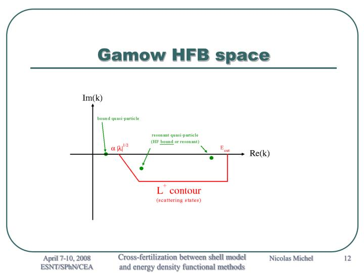 Gamow HFB space