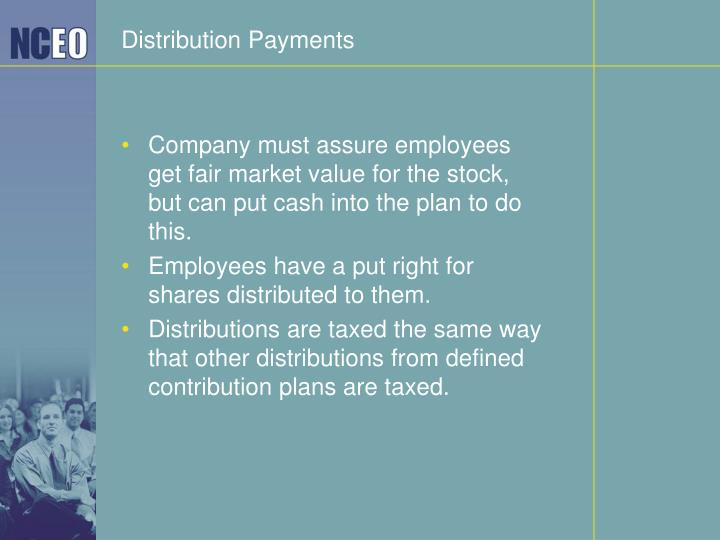 Distribution Payments
