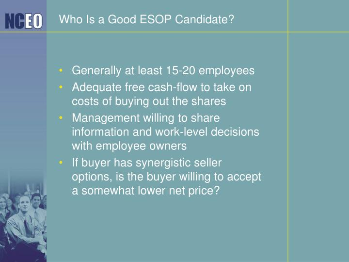 Who Is a Good ESOP Candidate?