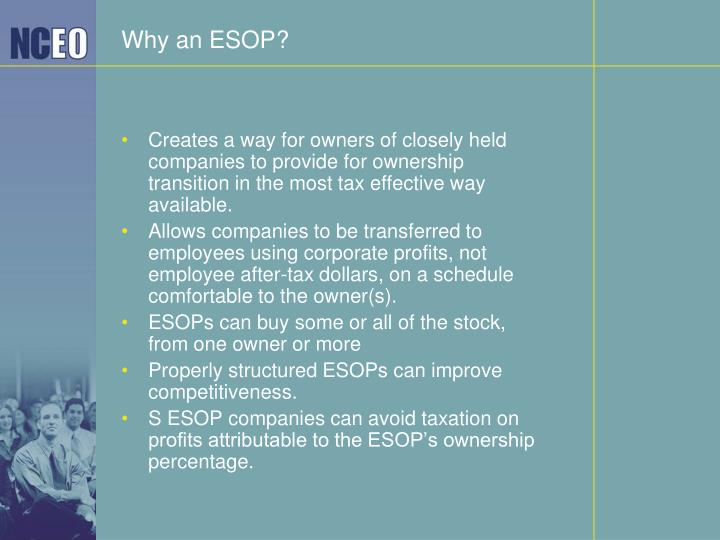 Why an ESOP?